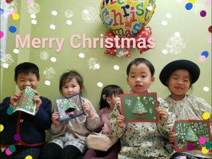 <呉教室>クリスマスカードを作ったよ♪