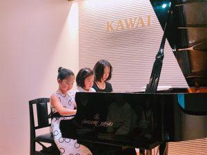 23日はピアノクラスの発表会でした