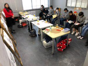 基町高校創造表現コース実技試験模試を行いました!