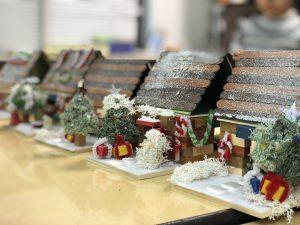 冬のウッドブロックの家を作ろう!
