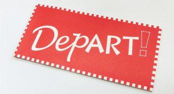 写真:グループ展「DepArt!」リーフレット 2012