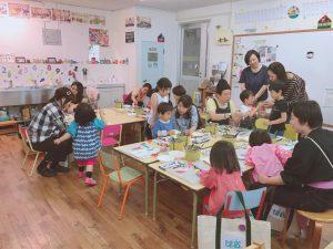西広島駅前教室 プチクラスのレッスンで…
