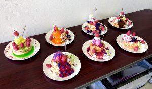 サマースクール《ワッフルパンケーキのメモスタンド》