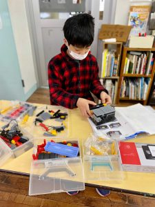 4月のロボット教室 アドバンスコース