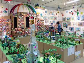 アトリエぱおの仲間たち展2014 オープンしました!