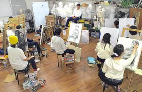 芸大美大受験科 人物画に挑戦!