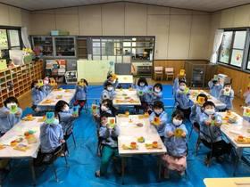 DocoDemoぱお 山口県の幼稚園で出張レッスン