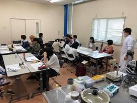 藝大美大受験科の遠足 ミクロ生物館(岩国市)に行ってきました。