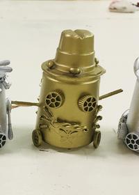 空容器で作るロボット