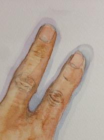 アトリエぱお安佐南教室の絵画の取り組み 「部分観察画」