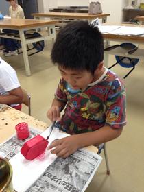 安芸教室の木工作