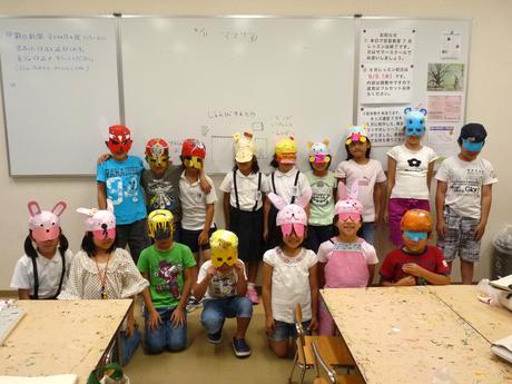 安芸教室キッズ2のマスク