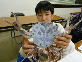 安佐南教室Jr.クラスのペーパーパペット