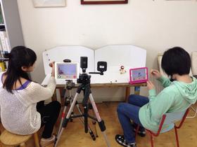 中高生クラスのアニメ実習