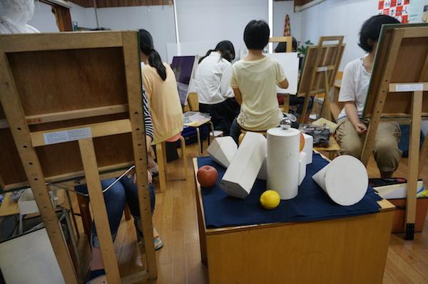 アトリエぱお 受験科対象の夏期講習2014の様子 vol.5