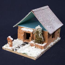 冬のワークショップ プログラム紹介④冬のミニレンガの家