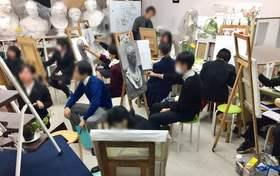 藝大美大受験生、美術系高校受験生、頑張っています!