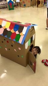 親子で作ろう 段ボールのマイホーム