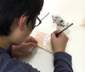 続★日本画実習