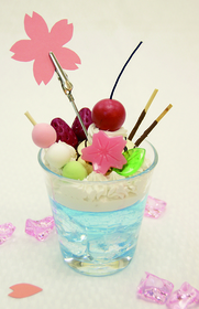 「春色パフェのメモスタンド」春のワークショップ プログラム紹介4