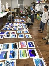 展覧会への道その1 「平面作品総覧会」