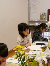 緑井教室の観察画