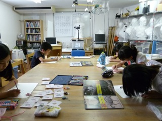 夏休み工作教室 クレイアニメ