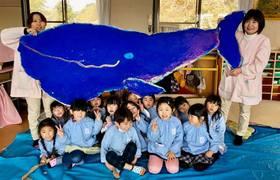 山口県の幼稚園でレッスン