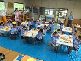 幼稚園で、DocoDemoぱお